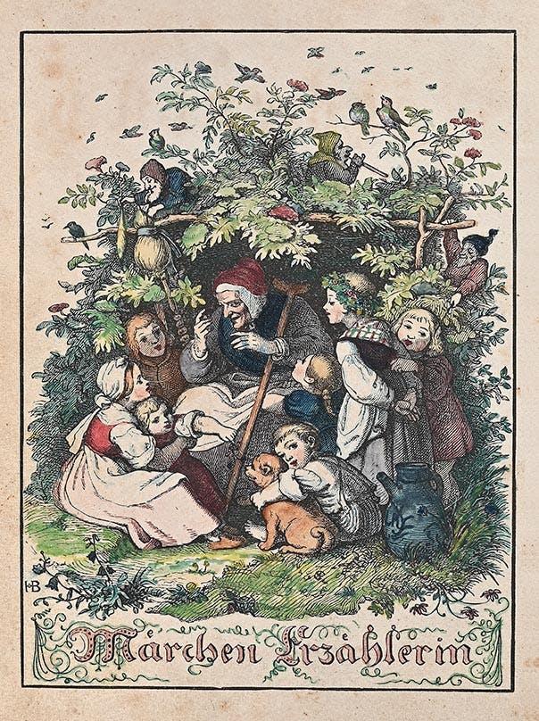 Deutsches Märchenbuch. Hg von Ludwig Bechstein. Leipzig 1847. Vaduz, LLM, Inv. Nr. 2019 0105