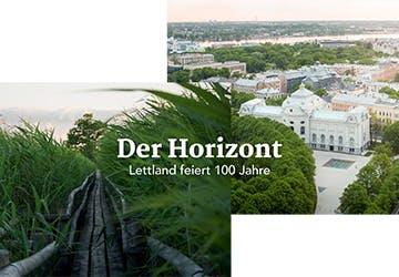 Der Horizont – Lettland feiert 100 Jahre crop