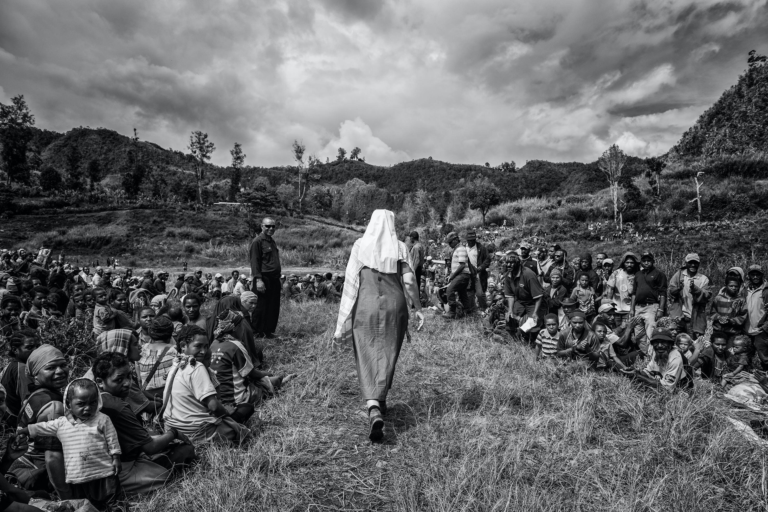 Schwester Lorena hat Frieden geschaffen. Sie plant eine Friedenszeremonie auch für Opfer und Täter von Hexen-Verfolgung.