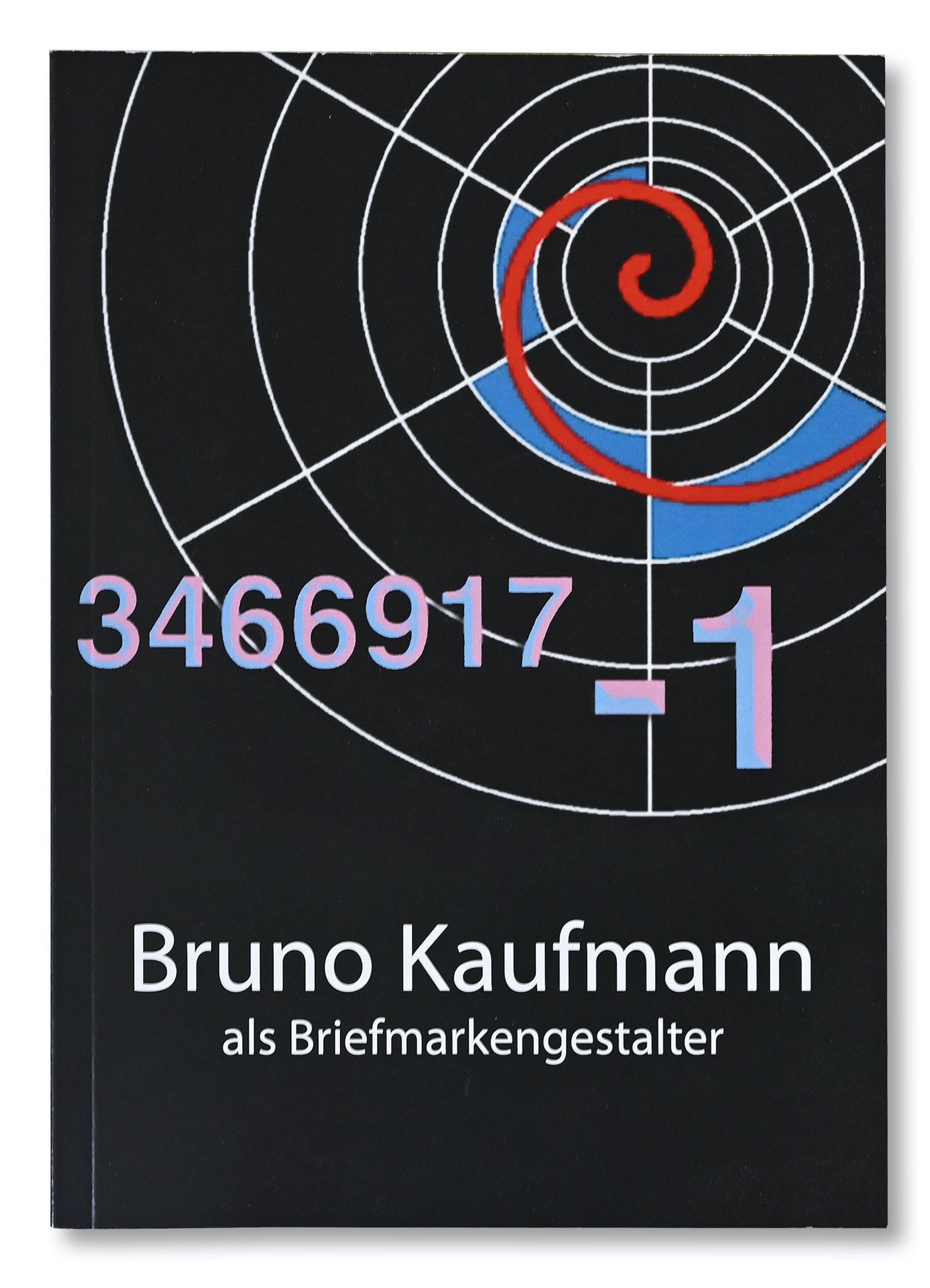 Publikation Bruno Kaufmann als Briefmarkengestalter