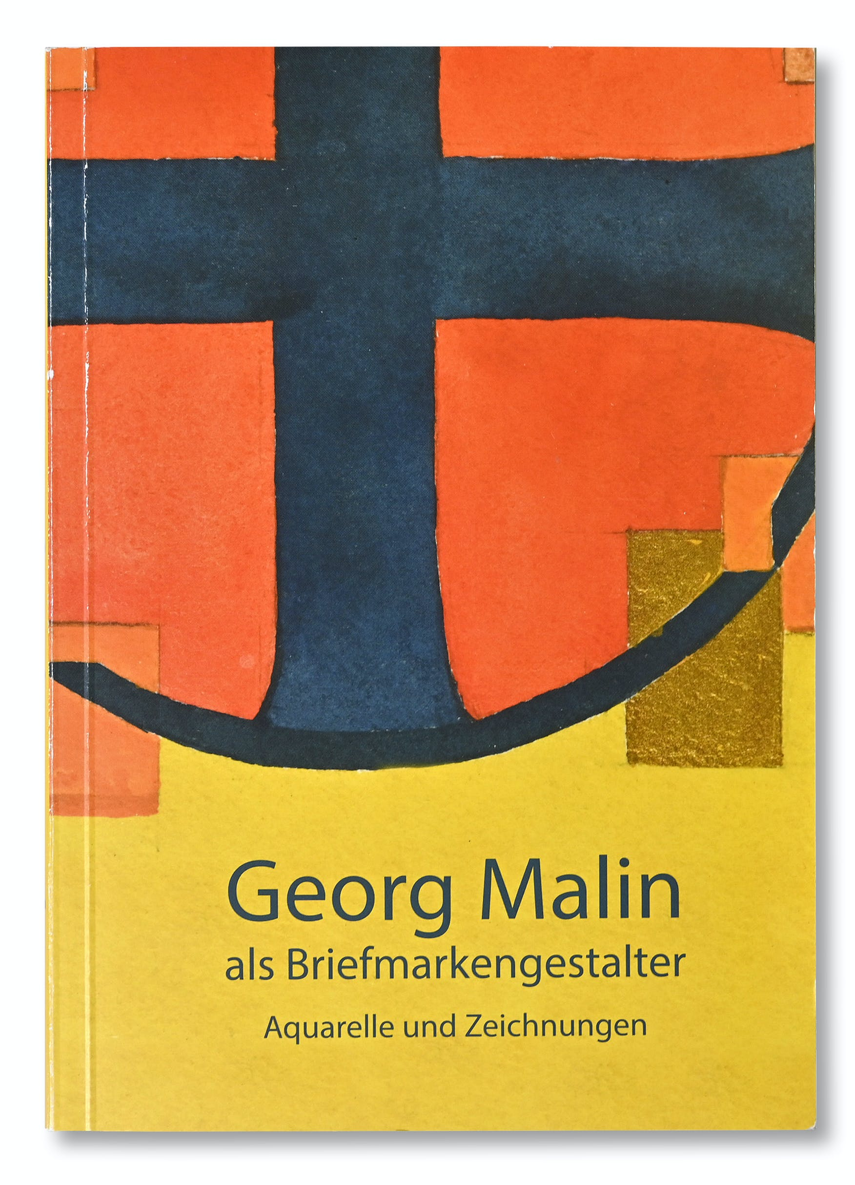 Publikation Georg Malin als Briefmarkengestalter