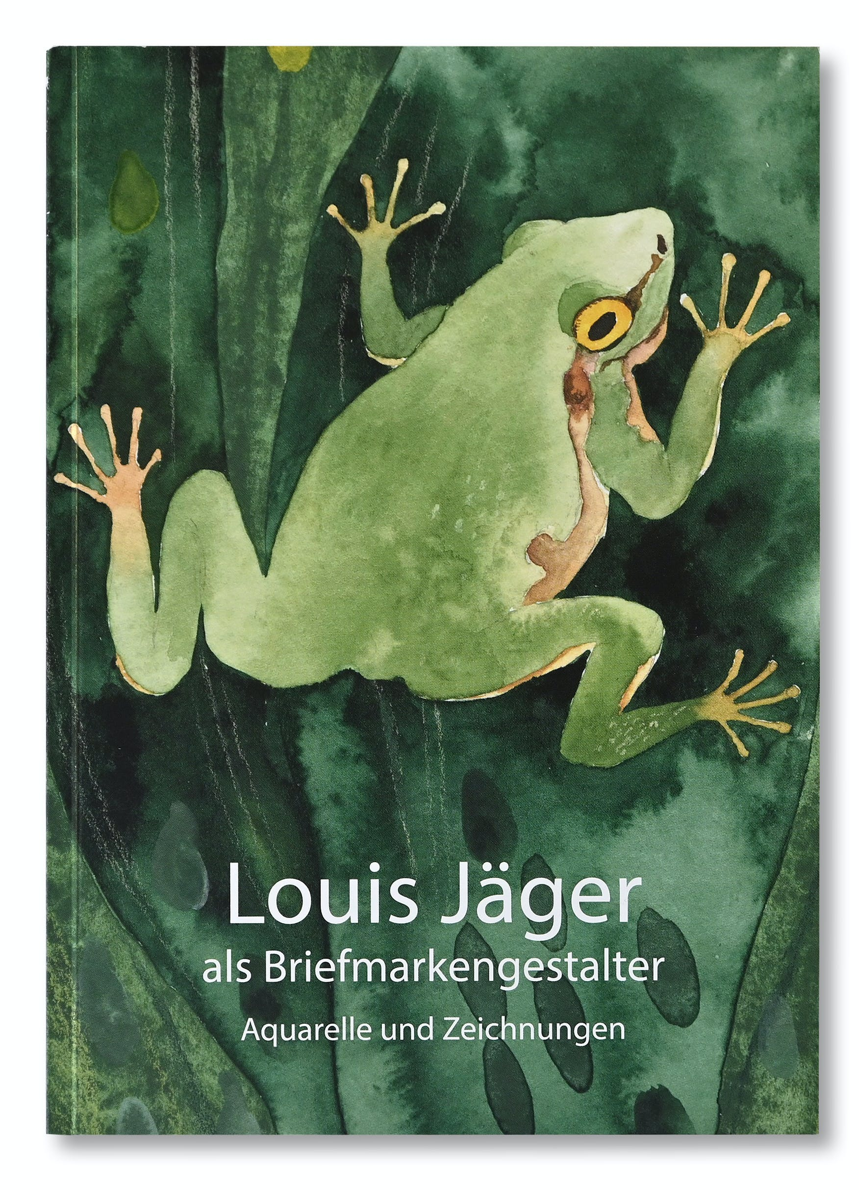 Publikation Louis Jäger als Briefmarkengestalter