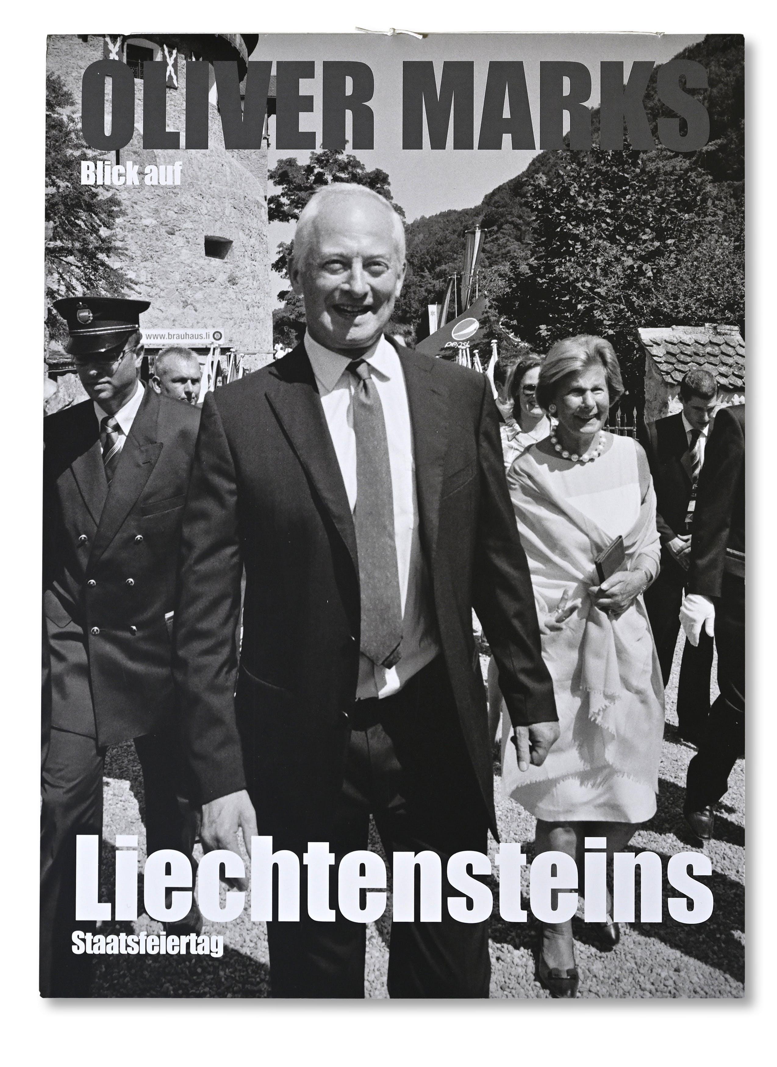 Publikation Oliver Marks Blick auf Liechtensteins