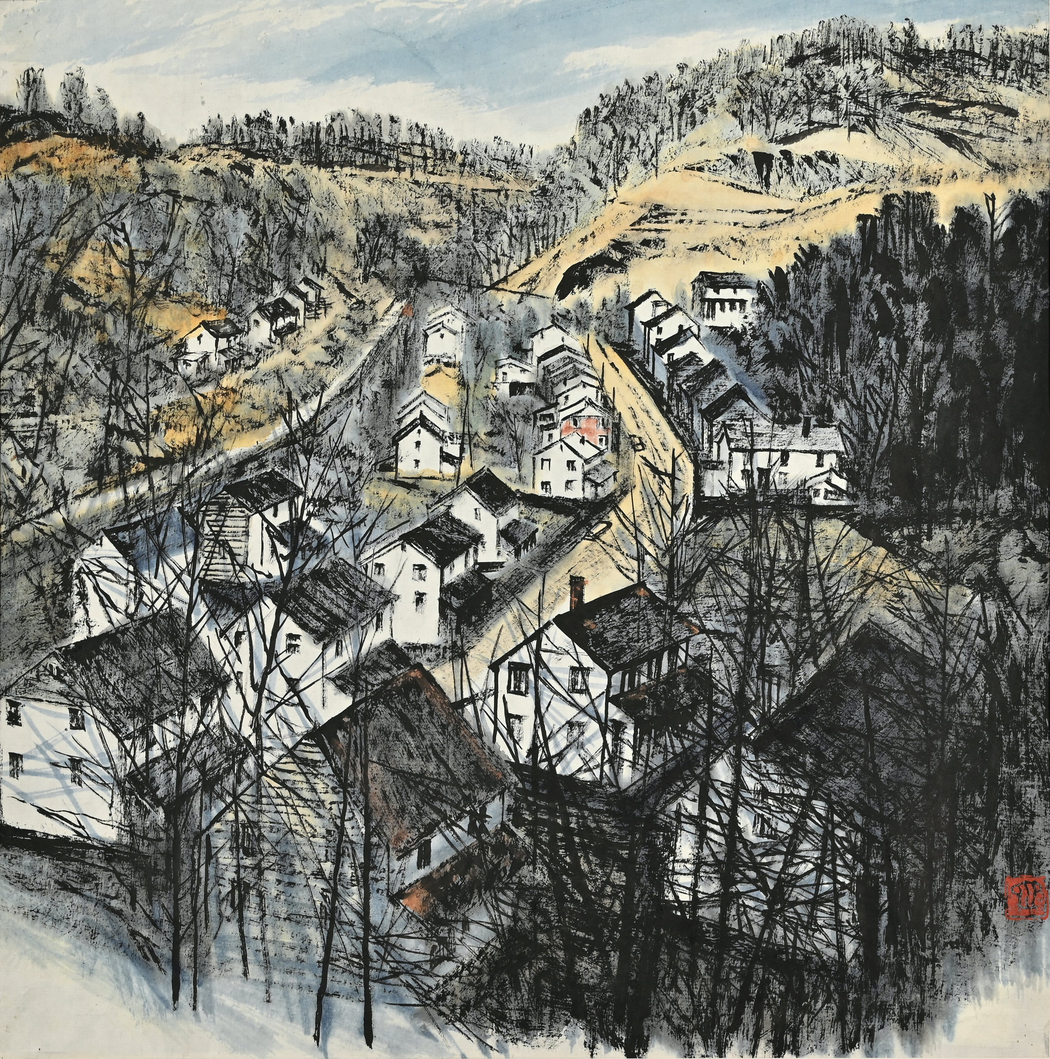 Ohne Titel - Zhang Ding