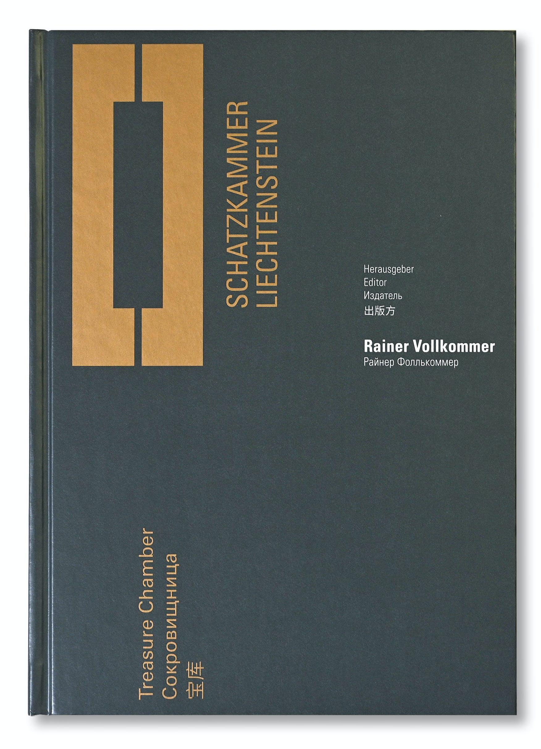 Publikation Schatzkammer Liechtenstein