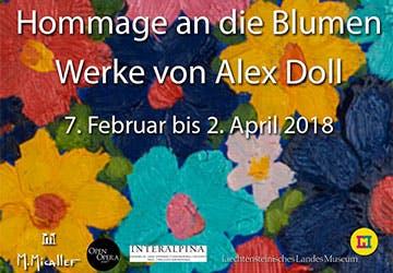 Alex Doll Hommage an die Blumen crop