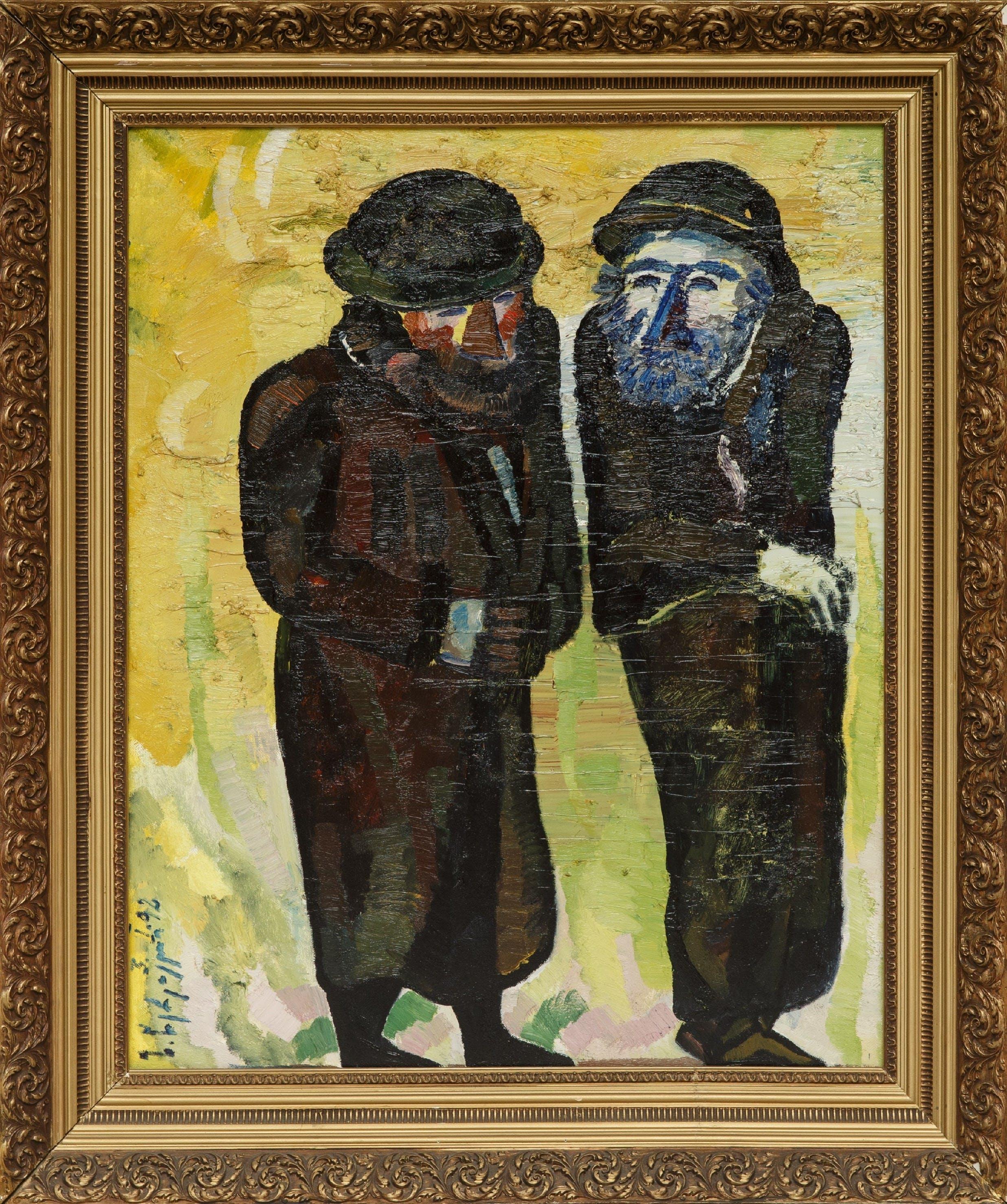 Zurab Tsereteli, Jerusalem, 1995, Oil on canvas