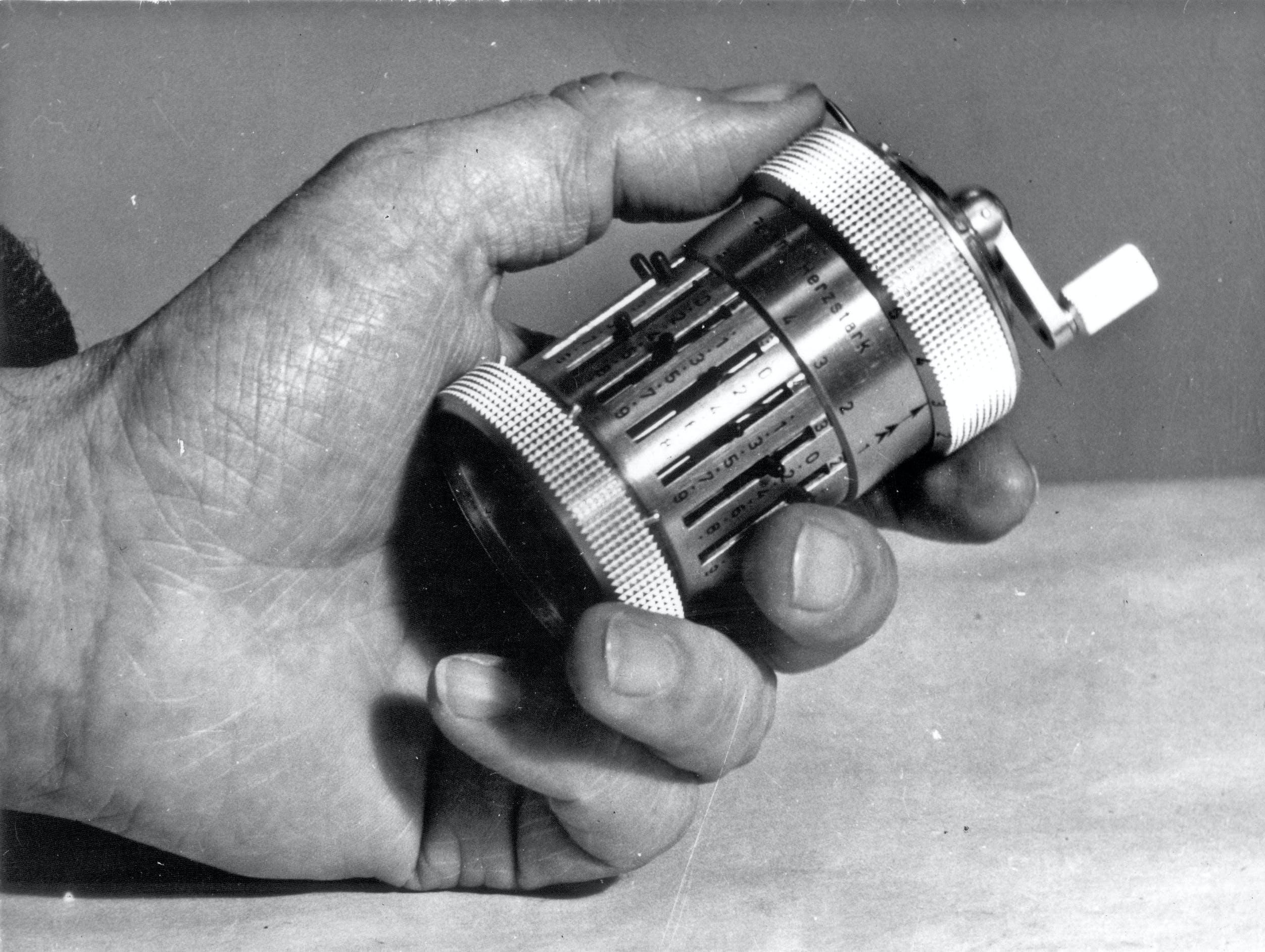 Prototyp Sömmerda Hand des Erfinders