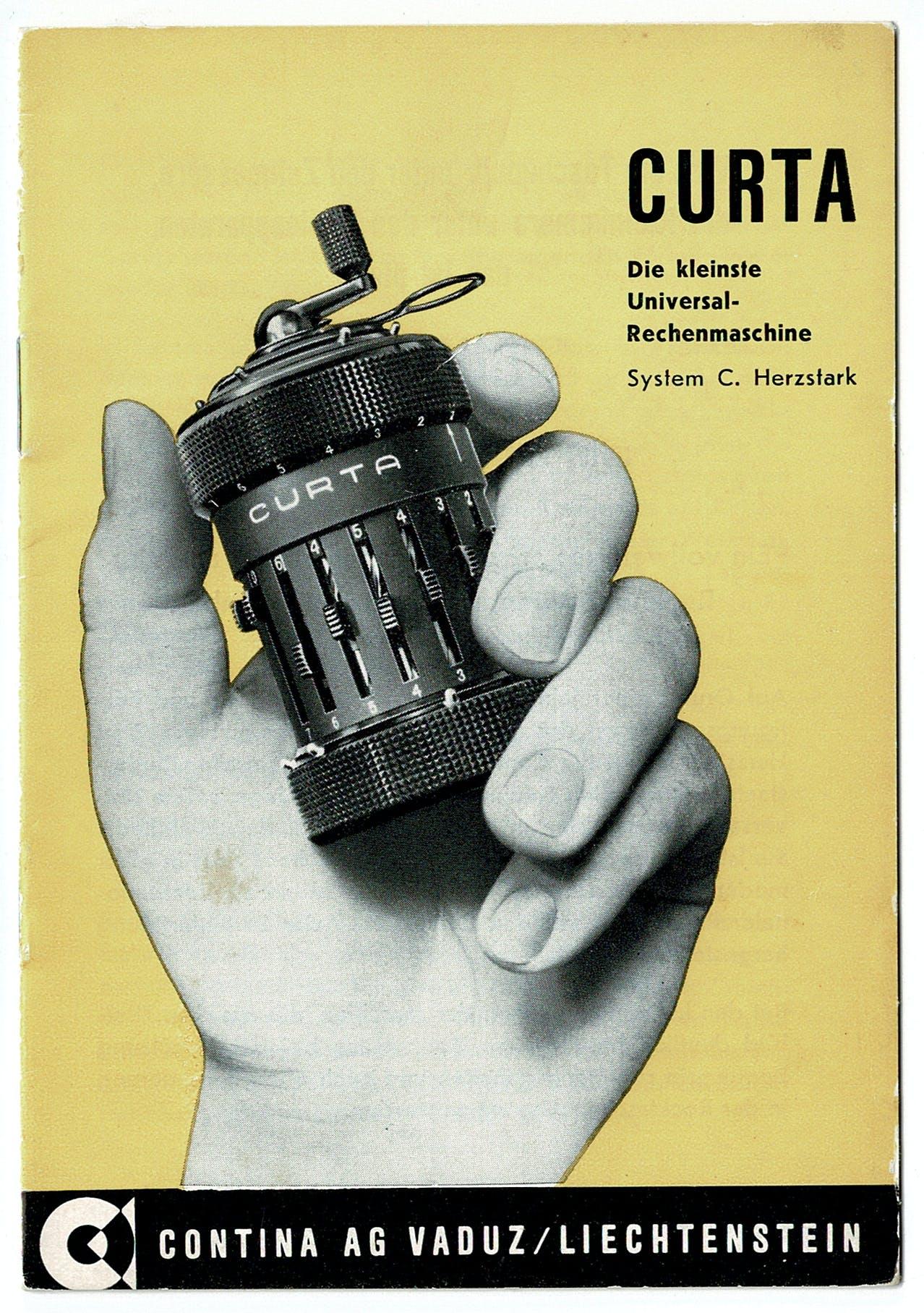 Curta Broschüre